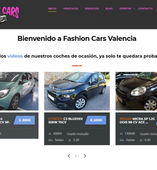 fashion cars valencia
