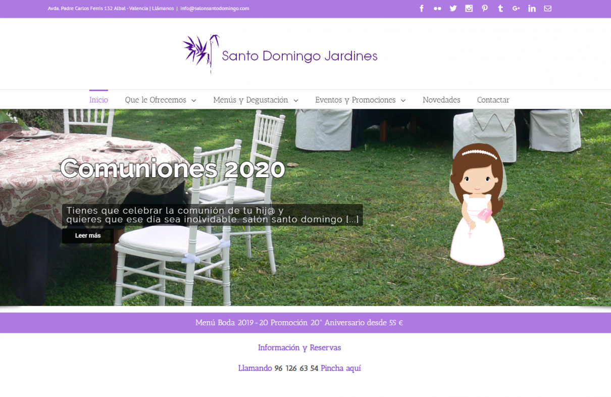 santo domingo wordpress