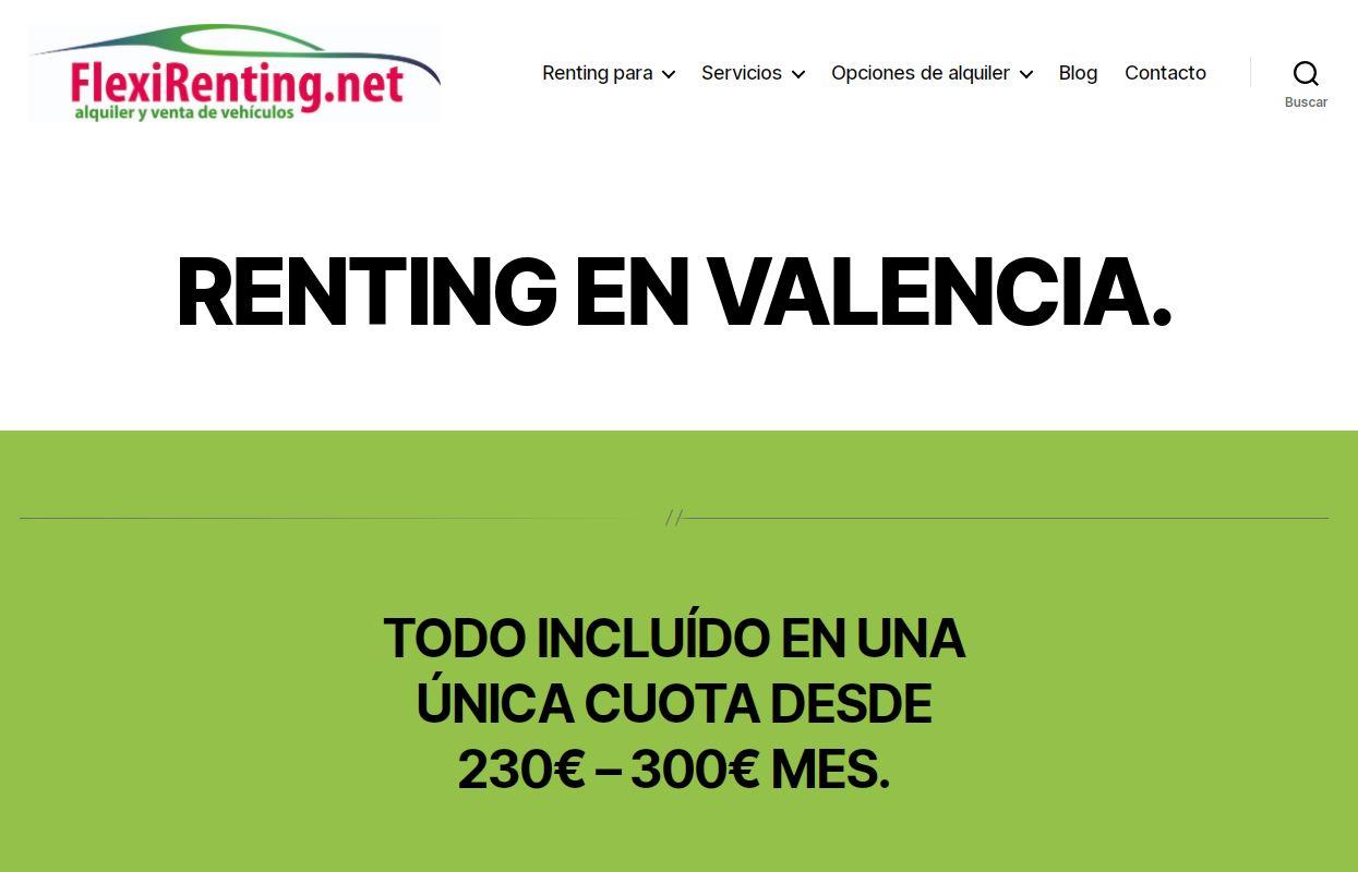 flexirenting en valencia