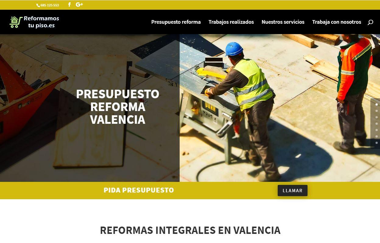 web reformas en valencia